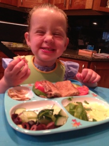Make your meals colorful and fun, and your little foodie will actually enjoy eating her fruits and veggies!